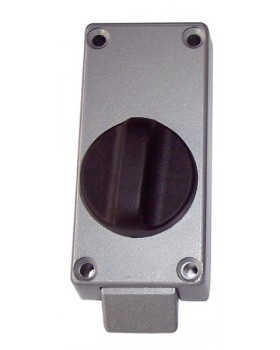Blocco serratura interna della porta d'ispezione.