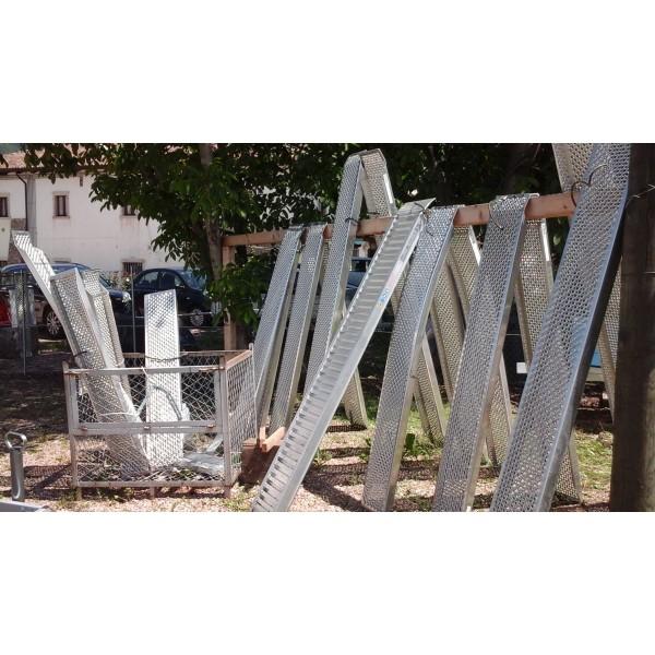 Gbtrailershop rampe in alluminiodispositivi di carico e for Rampe di carico in alluminio
