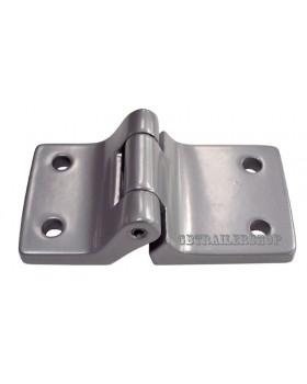 Cerniera in alluminio a 4 fori (11074)