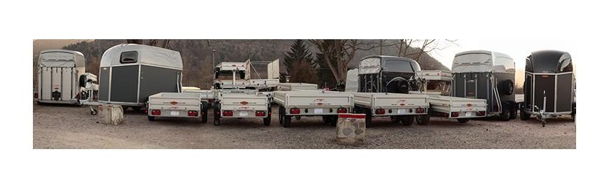 Carrelli per auto, rimorchi e trailer