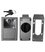 Set serratura per strutture in poliestere