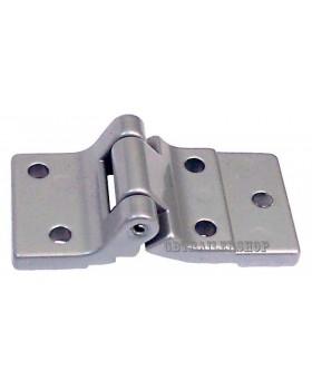 Cerniera in alluminio a 5 fori (11084)